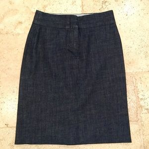 J.Crew Denim Pencil Skirt